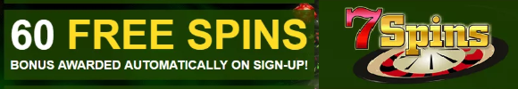 image 8 - 7Spins 60 FREE SPINS